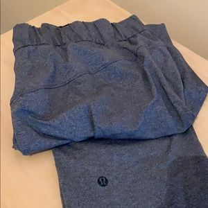 Lululemon On The Fly 7/8 Pants (Grey)